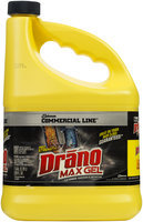 Drano® Max Gel Commercial Line Clog Remover 128 oz. Jug