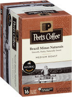 Peet's Coffee® Brazil Minas Naturais Medium Roast Coffee 16-0.43 oz. Single Serve Cups