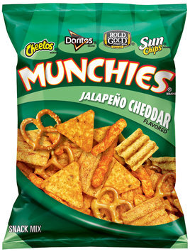 Munchies® Jalapeno Cheddar Flavored Snack Mix 3.25 oz. Bag