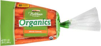 Bolthouse® Farms Organics Whole Carrots 16 oz. Bag