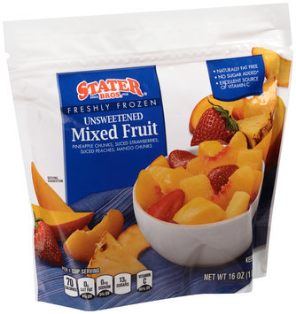 Stater Bros.® Unsweetened Mixed Fruit 16 oz. Bag