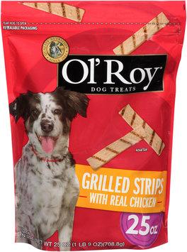 Ol' Roy® Grilled Strips Dog Treats 25 oz. Bag