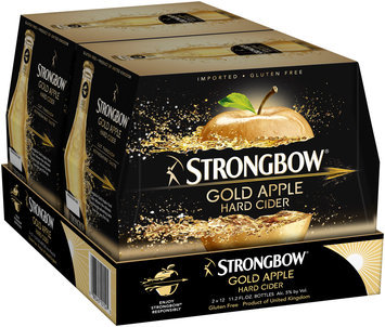 Strongbow® Gold Apple Hard Cider 24-11.2 fl. oz. Bottles