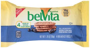 belVita Blueberry Breakfast Biscuits 4 ct Pack