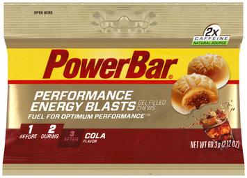 PowerBar Performance Energy Blasts Cola Gel Filled Chews