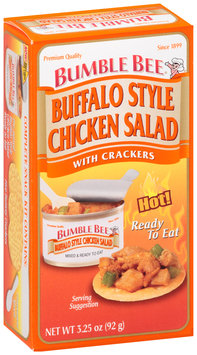 Bumble Bee® Ready to Eat Buffalo Style Chicken Salad with Crackers 3.25 oz. Box