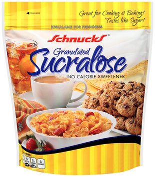 Schnucks® Granulated Sucralose No Calorie Sweetener 9.7 oz. Stand Up Bag