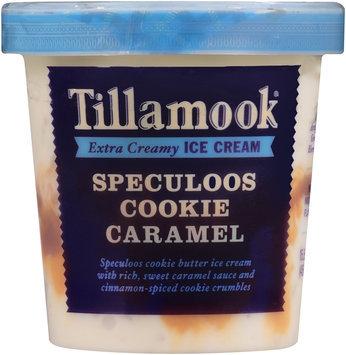 Tillamook® Speculoos Cookie Caramel Extra Creamy Ice Cream 15.5 fl. oz. Tub