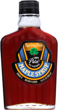 Spring Tree® 100% Pure Grade B Maple Syrup 8.5 fl. oz. Glass Bottle