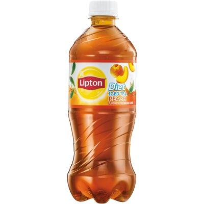 Lipton Diet Peach Iced Tea 20 fl. oz. Bottle