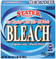 Stater Bros. Non Chlorine Color Safe All Fabric Bleach 30.3 Oz Box