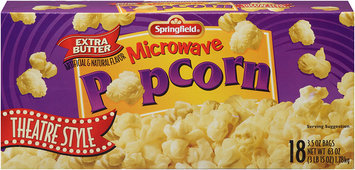 Springfield® Microwave Popcorn Theater Style 63 oz.
