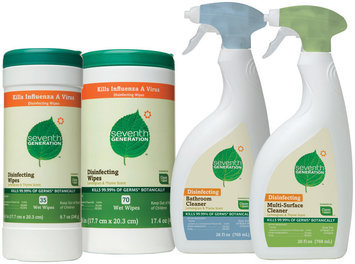 Seventh Generation \Disinfectant Wipes, Bathroom Cleaner, & Multi-Surface Cleaner Group Household Cleaner