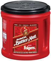 Folgers Maryland Club Butter-Nut Ground Coffee 34.5 Oz Canister