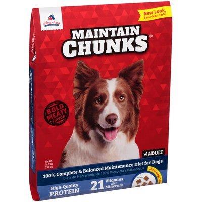 Maintain Chunks® Adult Dog Food 16.5 lb. Bag