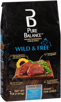 Pure Balance™ Wild & Free™ Bison & Pea Recipe Dog Food 4 lb. Bag
