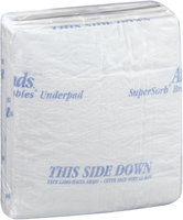 ASB-2336 Attends® SuperSorb® Breathables® Super Underpads 23 in. x 36 in., 5 count