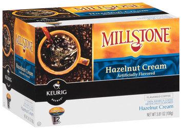 Millstone Hazelnut Cream Flavored K-Cups Coffee 12 Ct Box