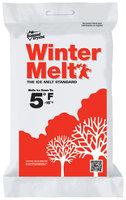 Diamond Crystal® Ice Melting Crystals Winter Melt 50 lb. Poly Bag