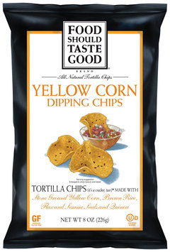 Food Should Taste Good® Yellow Corn Dipping Chips