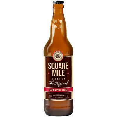 Square Mile Cider Co The Original Hard Apple Cider