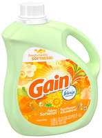 Gain with Febreze Freshness Sunflower & Sunshine Liquid Fabric Softener 103 fl. oz. Bottle