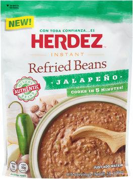Herdez™ Instant Jalapeno Refried Beans 5.8 oz. Pouch