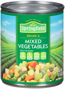 Springfield® Mixed Vegetables 8.5 oz. Can