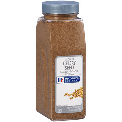 McCormick® Culinary™ Ground Celery Seed 16 oz. Shaker