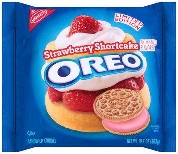 Nabisco Oreo Sandwich Cookies Strawberry Shortcake