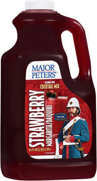 Major Peters'® Strawberry Margarita/Daiquiri Alcohol Free Cocktail Mix 64 fl. oz. Jug