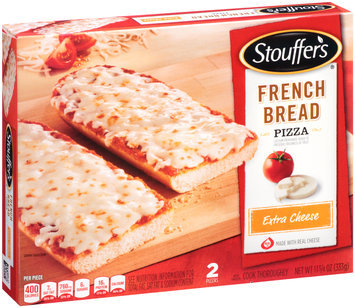 STOUFFER'S Extra Cheese French Bread Pizza 2 ct Box