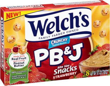 Welch's® Crunchy Strawberry PB&J Snacks