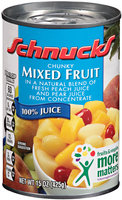 Schnucks® Chunky Mixed Fruit 15 oz.