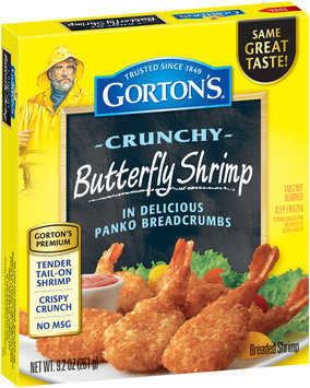 Gorton's® Crunchy Butterfly Shrimp 9.2 oz. Box