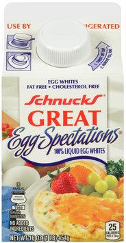 Schnucks® Great Egg-Spectations® Liquid Egg Whites 16 oz