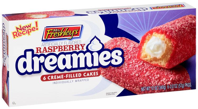 mrs Freshley's® Raspberry Dreamies