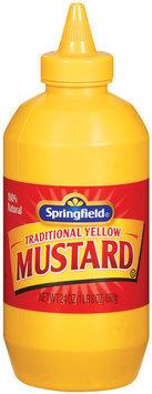 Springfield Yellow Mustard 24 Oz Plastic Bottle