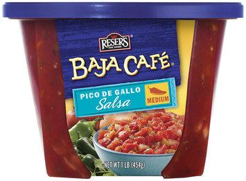 Baja Cafe Pico De Gallo Salsa 16 Oz Tub