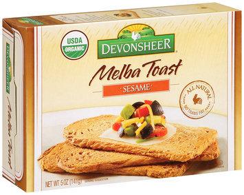 Devonsheer® Melba Toast Sesame 5 oz. Box