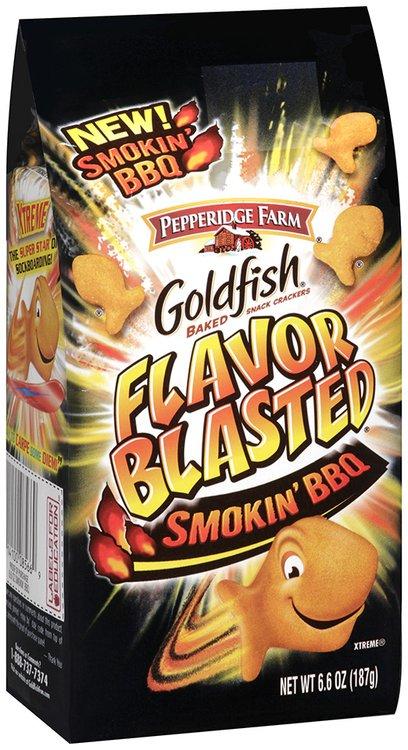 Pepperidge Farm® Goldfish® Baked Snack Crackers Smokin' BBQ 6.6 oz Bag