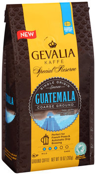Gevalia Special Reserve Coarse Ground Guatemala Ground Coffee 10 oz. Bag