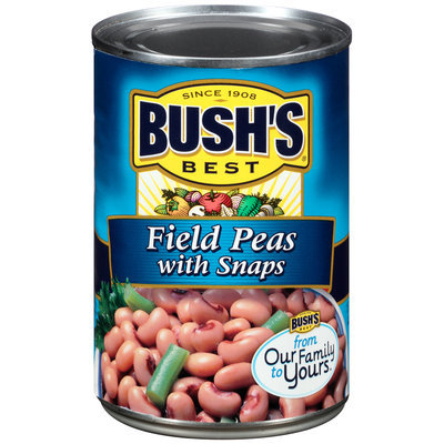 Bush's Best® Field Peas with Snaps 15.8 oz. Can