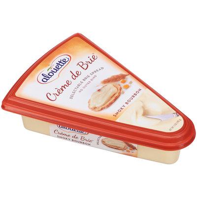 Alouette® Creme de Brie® Smokey Bourbon Cheese Spread 5 oz. Container