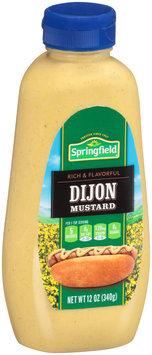 Springfield Dijon Mustard 12 oz. Plastic Bottle