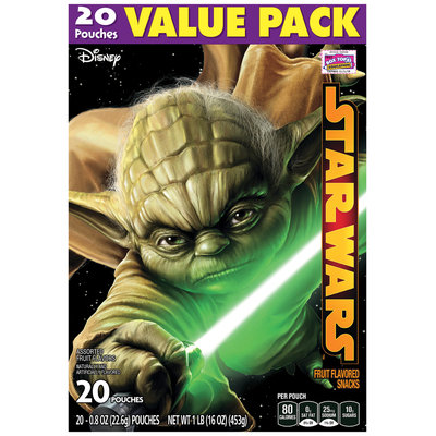 Betty Crocker® Star Wars™ Fruit Flavored Snacks 10-0.8 oz. Pouches
