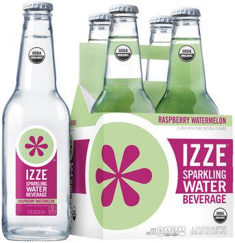 Izze® Raspberry Watermelon Sparkling Water Beverage 4-12 fl. oz. Bottles