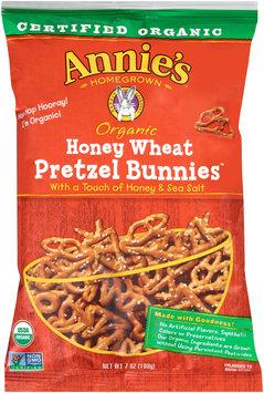 Annie's® Homegrown Organic Honey Wheat Pretzel Bunnies