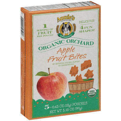 Annie's® Homegrown Organic Orchard Apple Fruit Bites