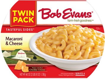 Bob Evans® Tasteful Sides™ Twin Pack Macaroni & Cheese Refrigerated Sides 40 oz. Tray